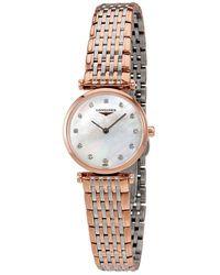 Longines La Grande Classique Mother Of Pearl Dial Ladies Watch - Metallic