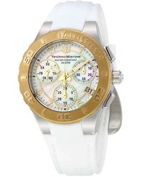 TechnoMarine Technocell Chronograph Quartz Mens Watch -318030 - Metallic