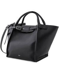 Céline Ladies Black Top Handle Bag