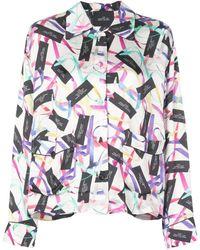 Marc Jacobs The Pyjama Top - White