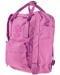 Fjallraven - Re-kanken Mini Pink Rose Backpack -142 - Lyst