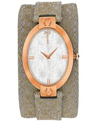 Jivago - Good Luck White Mother Of Pearl Dial Ladies Watch - Lyst