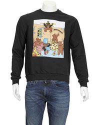 DOMREBEL Box Sweatshirt In Black, Brand
