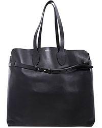 Burberry The Large Soft Leather Belt Bag - Black