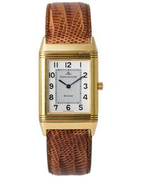 Jaeger-lecoultre Pre-owned Reverso Classic Hand Wind Silver Dial Unisex Watch - Metallic