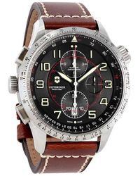 Victorinox Swiss Army Airboss Mechanical Black Dial Mens Watch - Multicolour