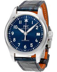 Iwc Pilots Automatic Midsize Blue Dial Unisex Watch