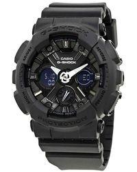 G-Shock G-shock Black Dial Resin Ladies Watch -s120mf-1acr
