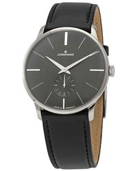 Junghans Meister Hand Wound Grey Dial Mens Watch