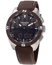 Tissot T-touch Expert Solar Ii Swiss Edition Mens Analog-digital Watch - Multicolor