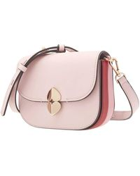 Kate Spade Ladies Lula Small Saddle Bag - Pink