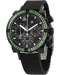 Jacob & Co Epic Ii Limited Edition Automatic Chronograph Watch - Black