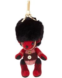 Burberry Key Rings Thomas Busby Women Red