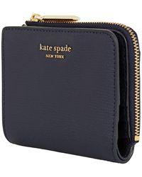 Kate Spade Sylvia Blue Ladies Bi-fold Wallet