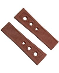Breitling Brown Rubber Strap 24-20mm