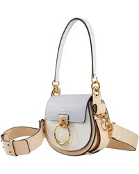 Chloé Ladies Colorblock Leather Shoulder Bag - Multicolor
