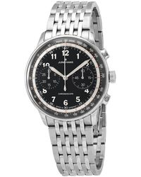 Junghans - Meister Telemeter Chronograph Automatic Mens Watch - Lyst