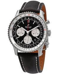 Breitling Navitimer 1 Chronograph Automatic Black Dial Mens Watch