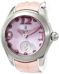 Corum Bubble Automatic Pink Dial Watch  Pn36