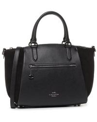 COACH Ladies Elise Satchel 29 In Black