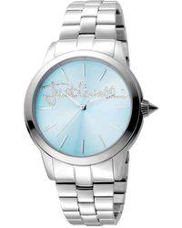 Just Cavalli Fashion Bluedial Ladies Watch