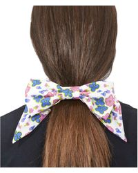 Marc Jacobs The Hair Bow Floral - White