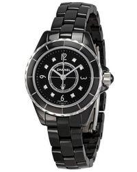 Chanel J12 Quartz Watch - Black