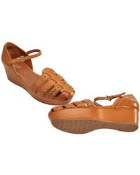 Tod's Womens Shoes In Brandy - Brown
