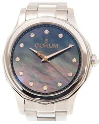 Corum Bubble Mother Of Pearl Dial Unisex Watch - Metallic