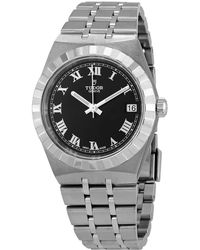 Tudor Royal Automatic Black Dial Watch -0003 - Metallic