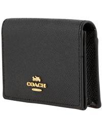 COACH Business Card Case In Black