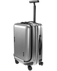 Samsonite Inova Spin 55/20 Front Pocket Travel Case In Silver - Metallic