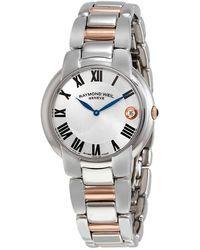 Raymond Weil Jasmine Silver Dial Ladies Watch -s5-01659 - Metallic