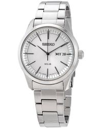 Seiko - Quartz Mens Stainless Steel Watch - Lyst