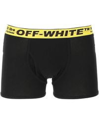 Off-White c/o Virgil Abloh Three-pack Industrial-band Boxers - Black