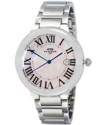 Oniss Whitedial Ladies Watch -0lwt - Metallic