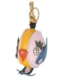 Burberry Larch Yellow Derek The Bird Leather Charm