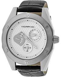 Morphic M46 Series Silver Dial Mens Watch - Metallic
