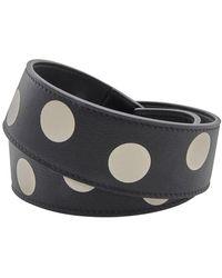 Loewe Ladies Black Dots Bag Strap