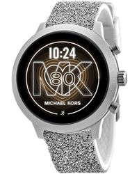 Michael Kors Access Touchscreen Smartwatch-lexington Tri-tone Stainless Steel Smart Watch - Metallic