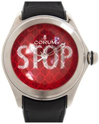 Corum Bubble Automatic Red Dial Watch  St01
