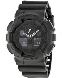 G-Shock G-shock Classic Series Analog-digital Black Dial Mens Watch -1a1cr