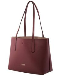 Kate Spade Red Molly Small Tote