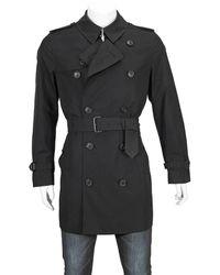 Burberry The Short Chelsea Trench Coat - Black
