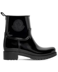 Moncler Ladies Ginette Rain Boots, Brand - Black