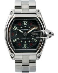 Cartier Roadster Black Steel Watch