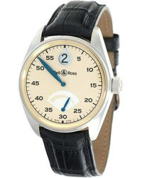 Bell & Ross Pre-owned Vintage Automatic White Dial Watch  Jh - Metallic
