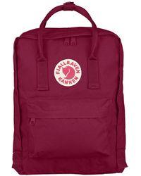 Fjallraven Kanken Backpack - Plum - Purple