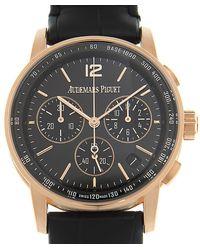 Audemars Piguet Code 11.59 Chronograph Black Dial Unisex Watch - Multicolour