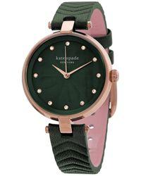 Kate Spade Quartz Green Dial Ladies Watch